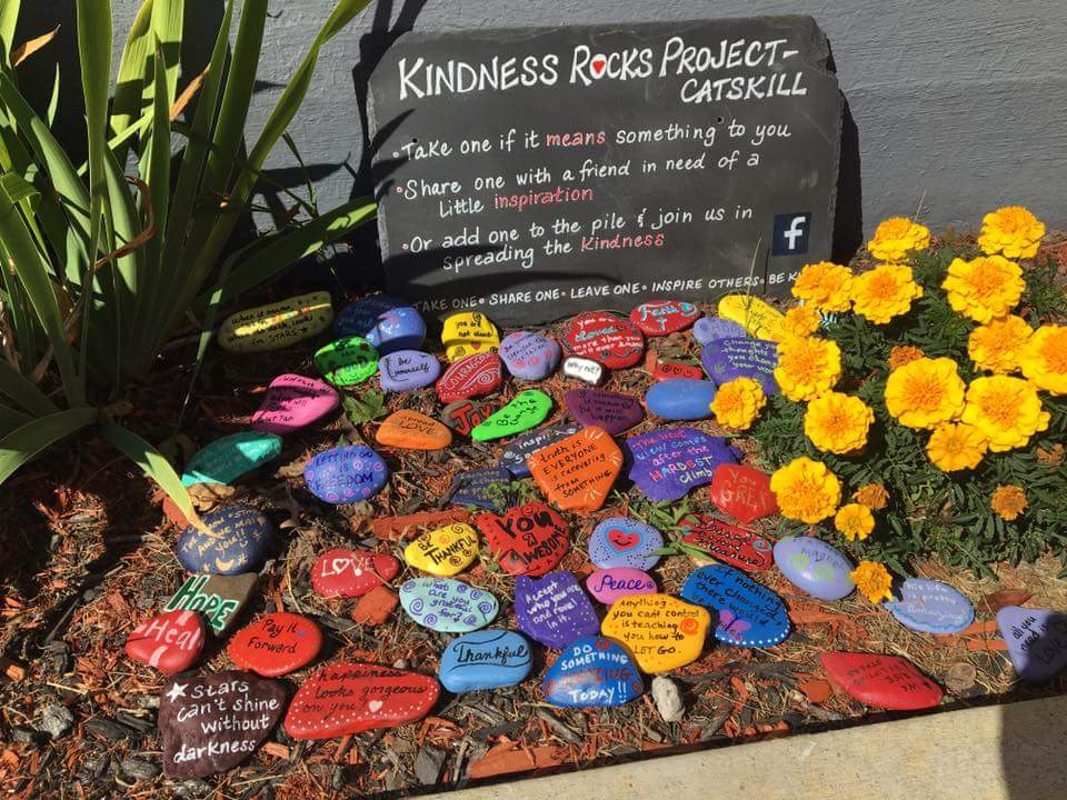 Image result for kindness rocks inspiration garden